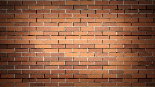 Muro di mattoni marrone