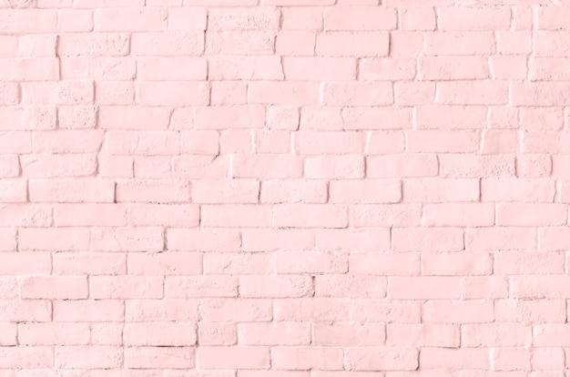 Muro di mattoni pastello