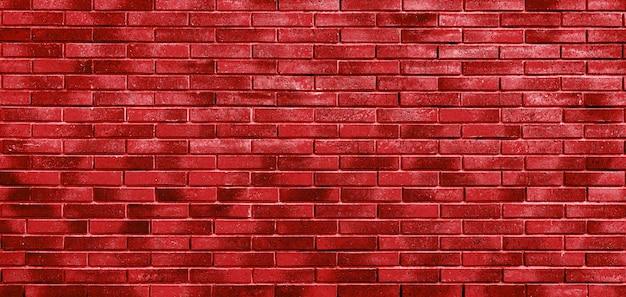 Muro di mattoni rossi. loft interior design. sfondo architettonico.