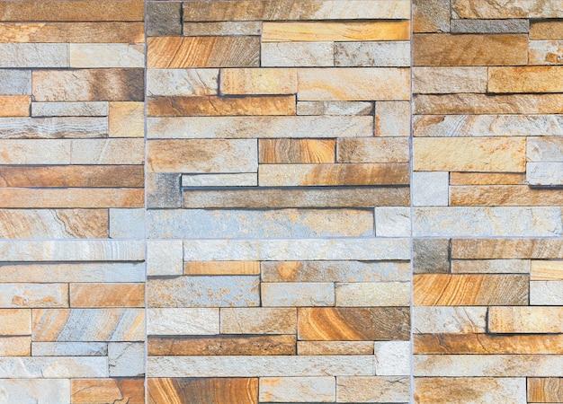 Muro di piastrelle di arenaria