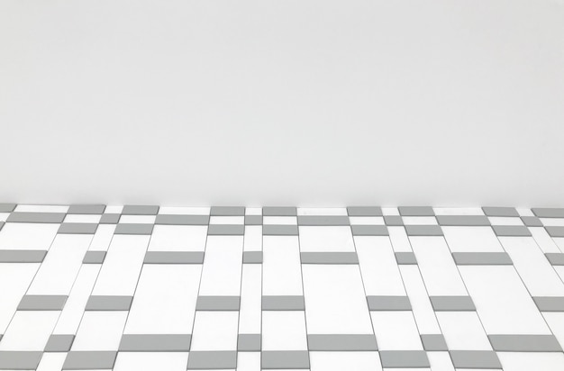 Muro di piastrelle quadrate casuali