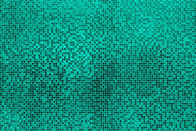 Muro di piastrelle verde mosiac