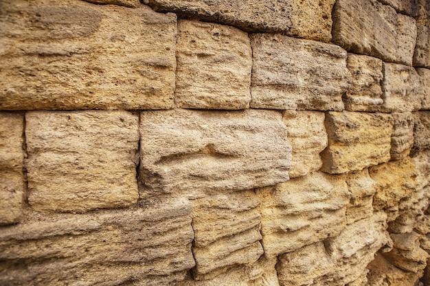 Muro di pietra del grunge