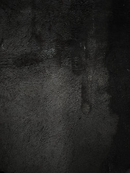 Muro di pietra nera naturale