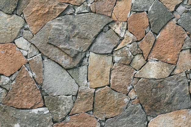 Muro di pietre sfondo astratto