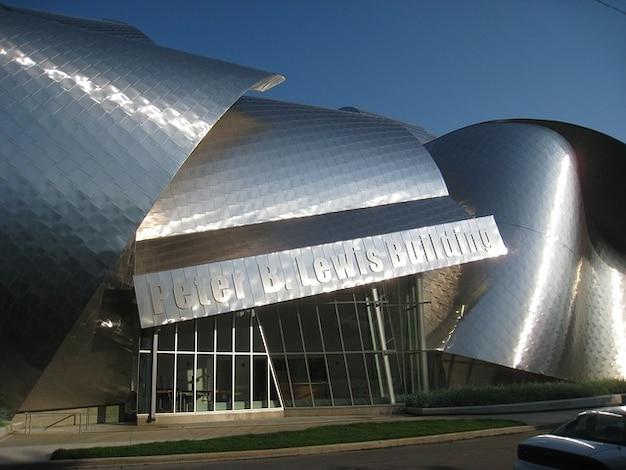 Museo d'arte architettura cleveland ohio dettaglio