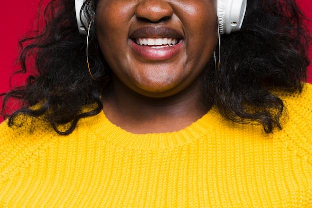 Musica d'ascolto della donna del primo piano
