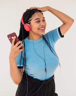 Musica d'ascolto della donna