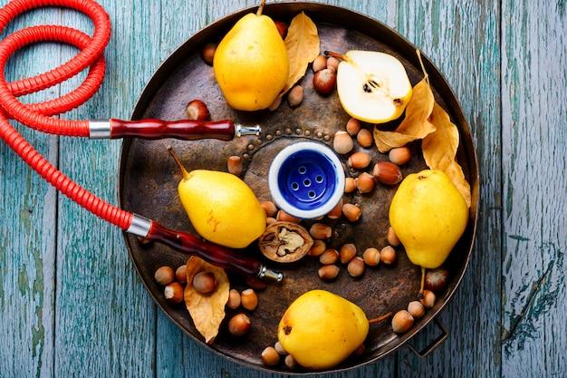 Narghilè turco con aroma di pera