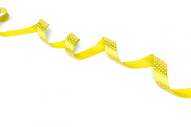 Nastri gialli isolati