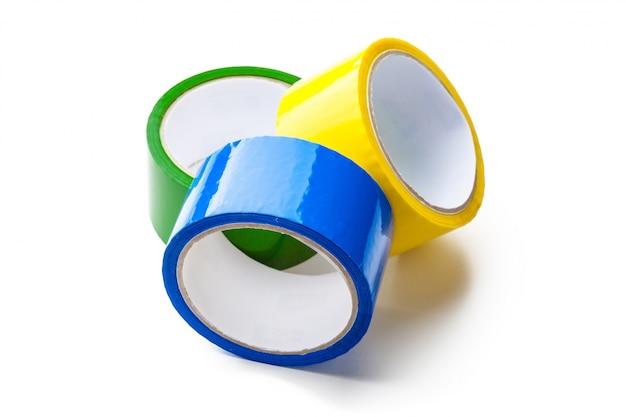 Nastro colorato in rotoli di grandi dimensioni