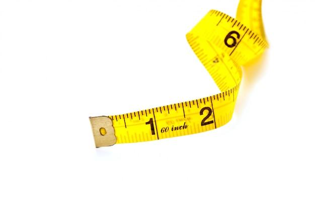 Nastro di misurazione giallo