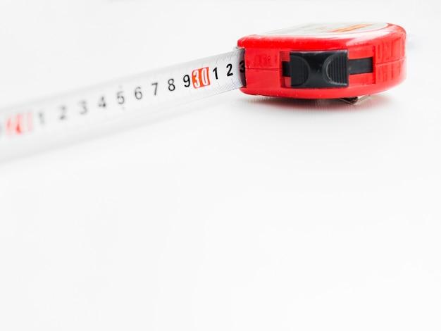 Nastro di misurazione rosso