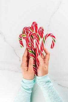Natale, concetto di inverno. vacanze, dolci, prelibatezze.
