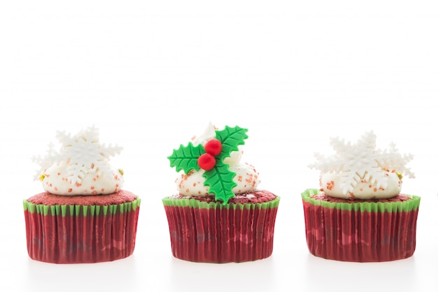 Natale cupcakes