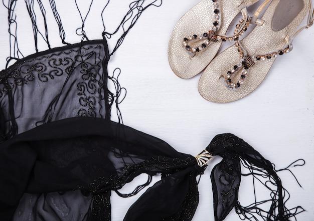 Natura morta di moda donna
