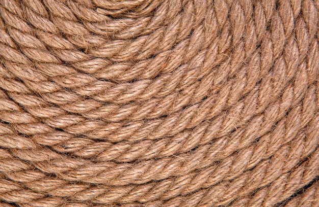 Nave corda, vista dall'alto con spazio di copia
