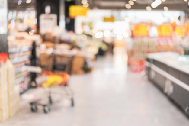 Negozio di alimentari del supermercato