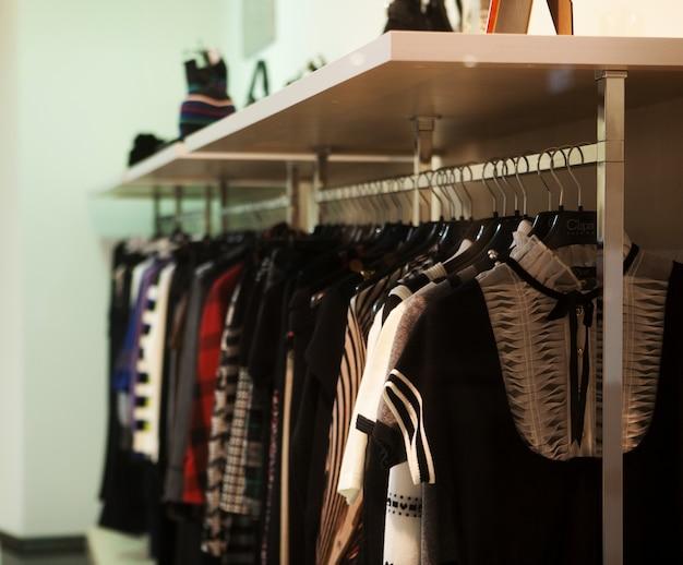 Negozio di moda, concetto di moda