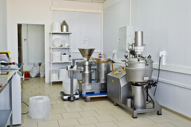 Negozio industriale di produzione alimentare