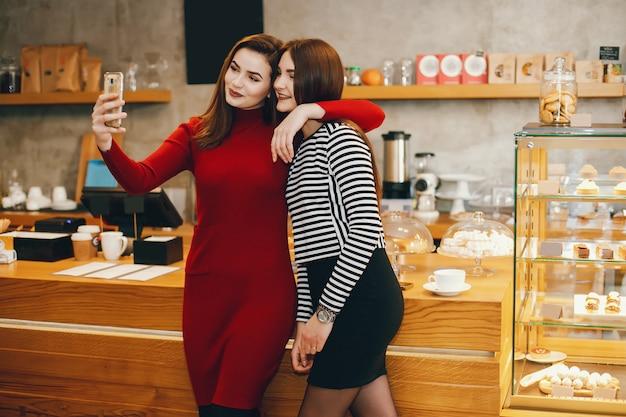 Nella caffetteria