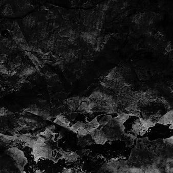 Nero grunge struttura della parete
