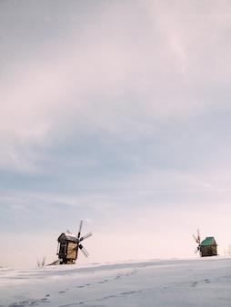Neve di scena di natale