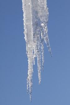 Neve, inverno, ghiaccio, ghiacciolo, gelo, raffreddore,