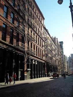 New york city che sfrutta la manodopera strada