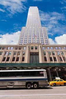 New york city manhattan 5 th av empire state
