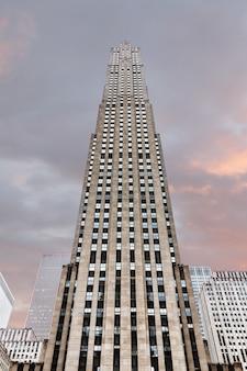 New york, usa - 1 ° maggio 2016: rockefeller center di new york city