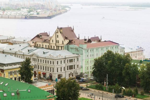 Nizhny novgorod, russia, agosto, estate.