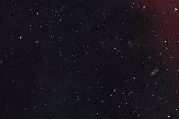 Notte splende il cielo stellato copia spazio