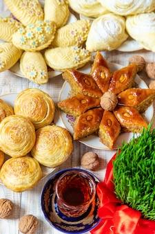Novruz. tradizioni azere. nuovo anno. messa a fuoco selettiva