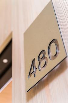 Numero dell'appartamento