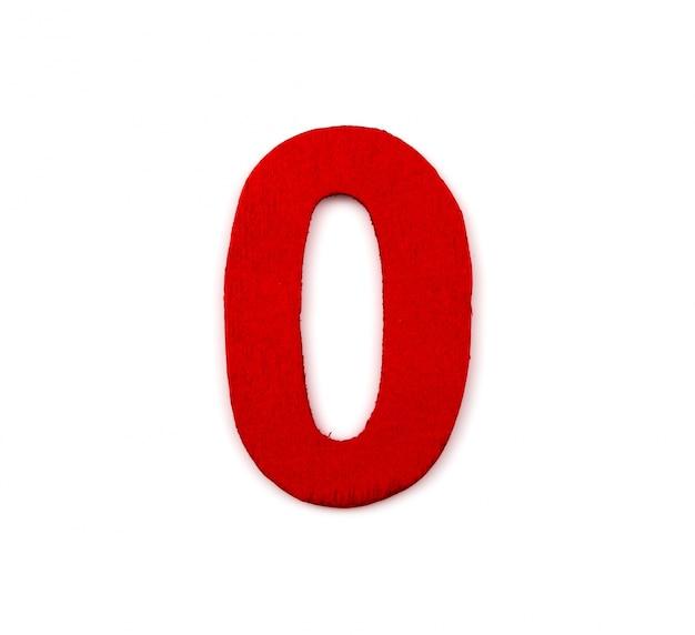 Numero rosso pari a zero