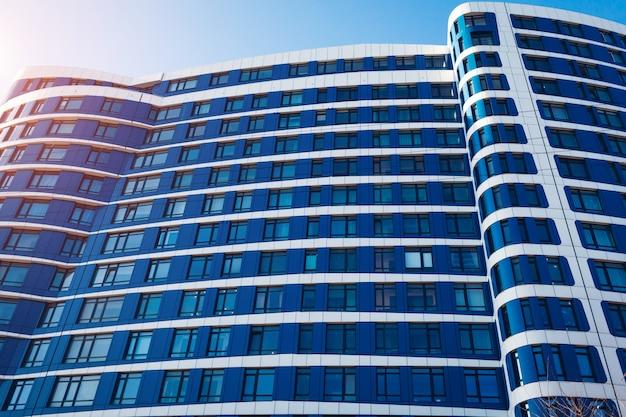 Nuovo edificio circolare multipiano residenziale