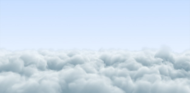 Nuvola e cielo