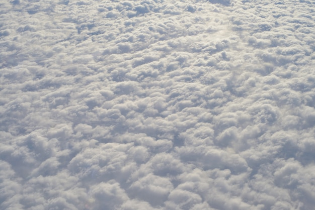 Nuvole di tela densa.
