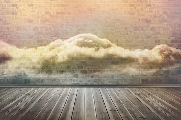 Nuvole in una stanza
