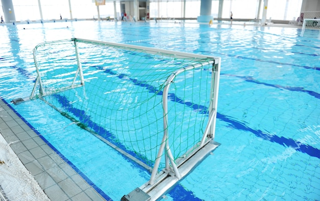 Obiettivo della piscina sportiva