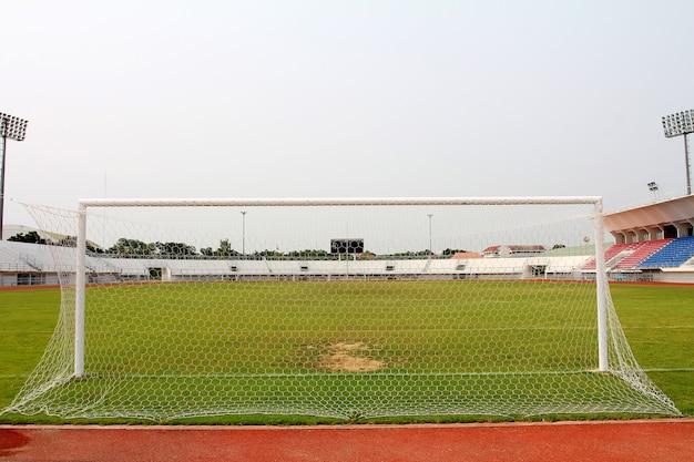 Obiettivo di calcio vuoto