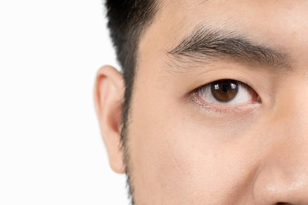 Occhi di bambini tailandesi
