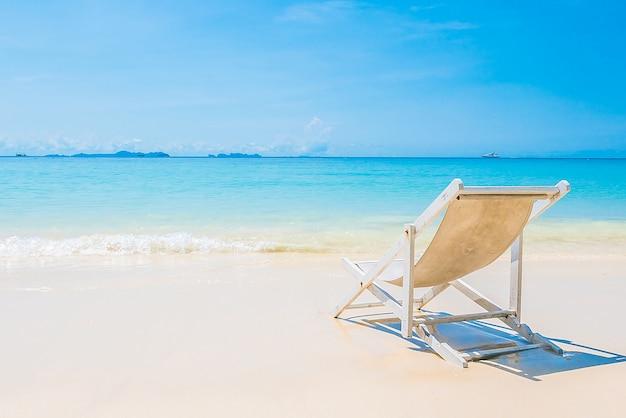 Oceano bianco riva paesaggio