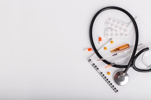 Oggetti medici distesi