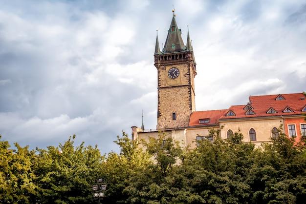 Old town hall. praga, repubblica ceca