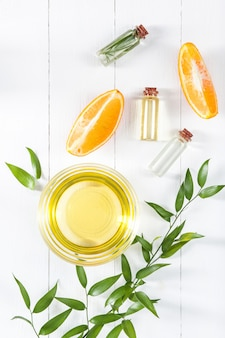 Olio di arance e arancia