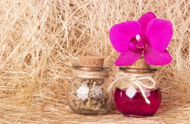 Olio essenziale e cosmetici naturali