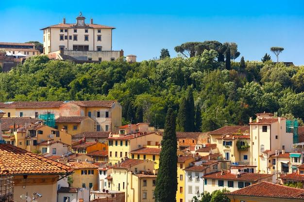 Oltrarno e fort belvedere a firenze, italia