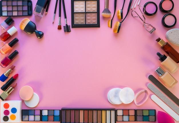 Ombretti di rossetto trucco cosmetici